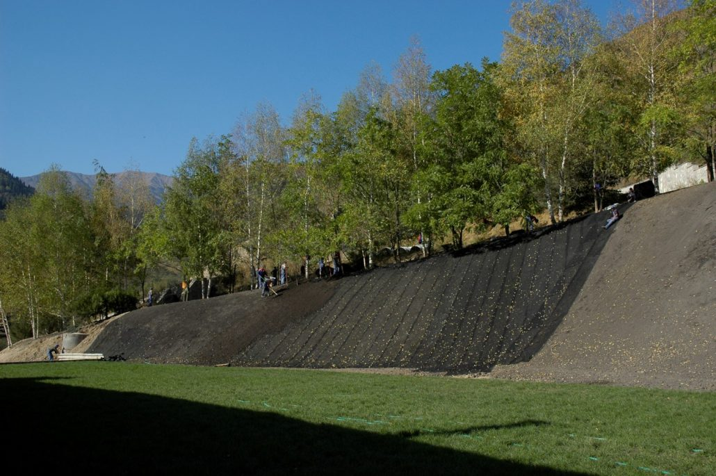 Anti-erosiemat : erosiebescherming met Enkamat