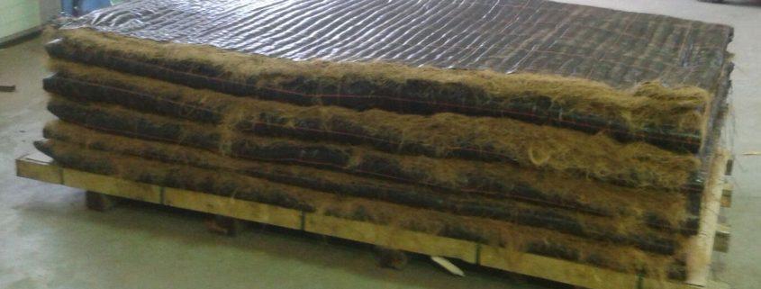 T&F kokosmatten + Low & Bonar geotextiel