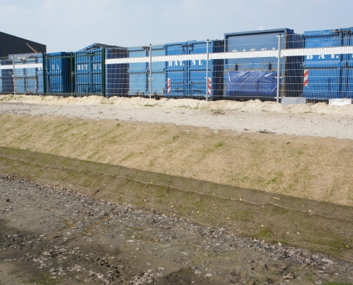 T&F Kokosmatten Waterbergingsvijver Tilburg