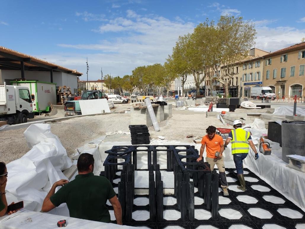 T&F Non Woven (NW16) tbv nieuwe aanplant bomen Frankrijk